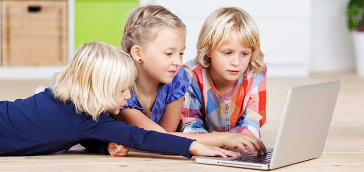 Effects of increased amounts of time spent on computers for children